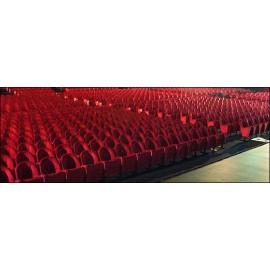 Poltrona sedia seduta da teatro cinema