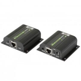 Techly Extender Amplificatore POE HDMI Full HD HDCP su cavo Cat.6 EXT-E70POED CON EDID E IR