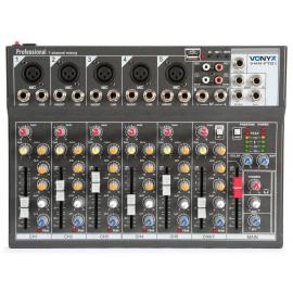 Vonyx Vmm-f701 Mixer Audio 5 Ingressi Micro Line Mono Ingresso Uscita Stereo Line