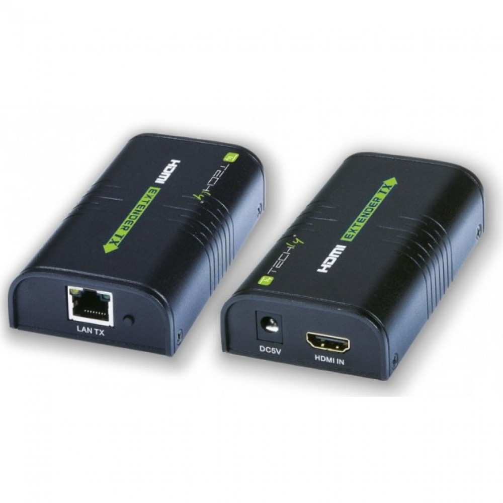 Amplificatore Splitter HDMI tramite rete IP Techly EXTIP373