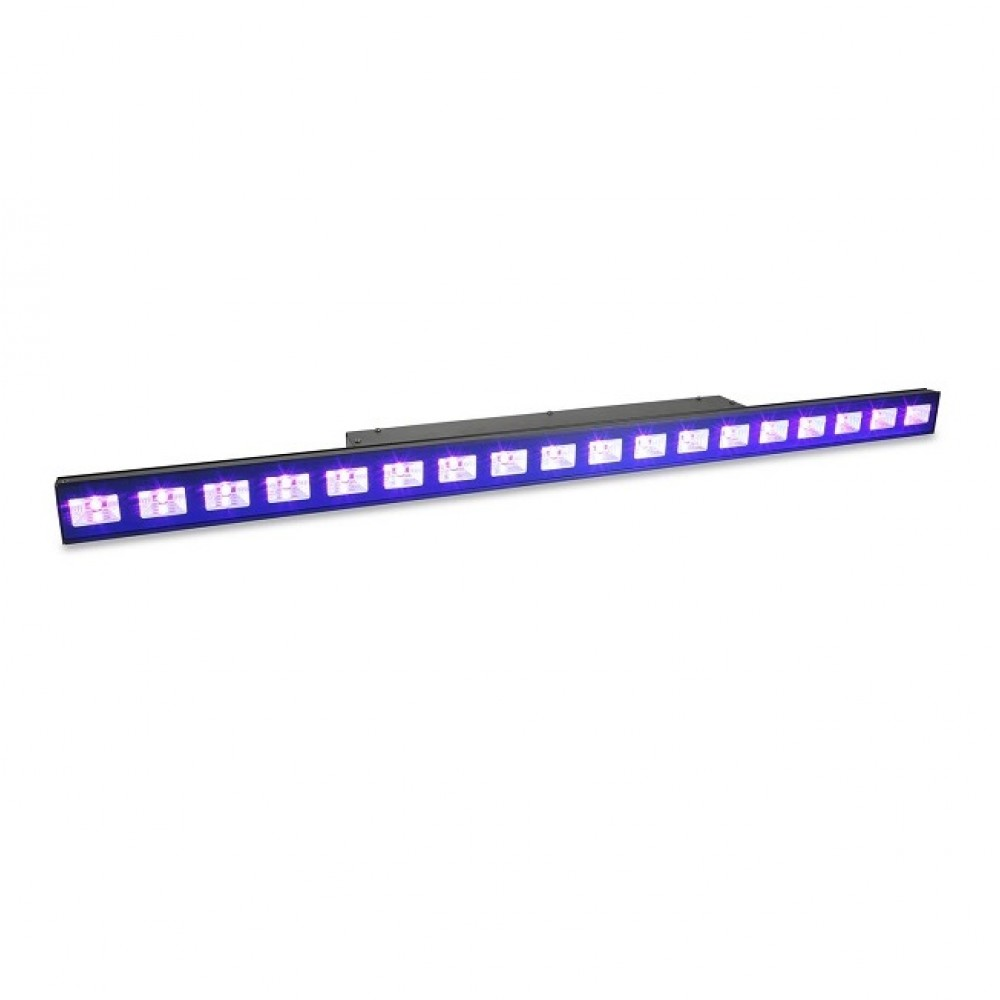 BARRA LED BEAMZ  LCB48 18x3W LED UV 9CH DMX - 150610