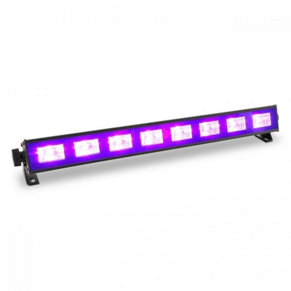 BARRA LED BEAMZ BUV93 8x3W LED UV DMX - 153270