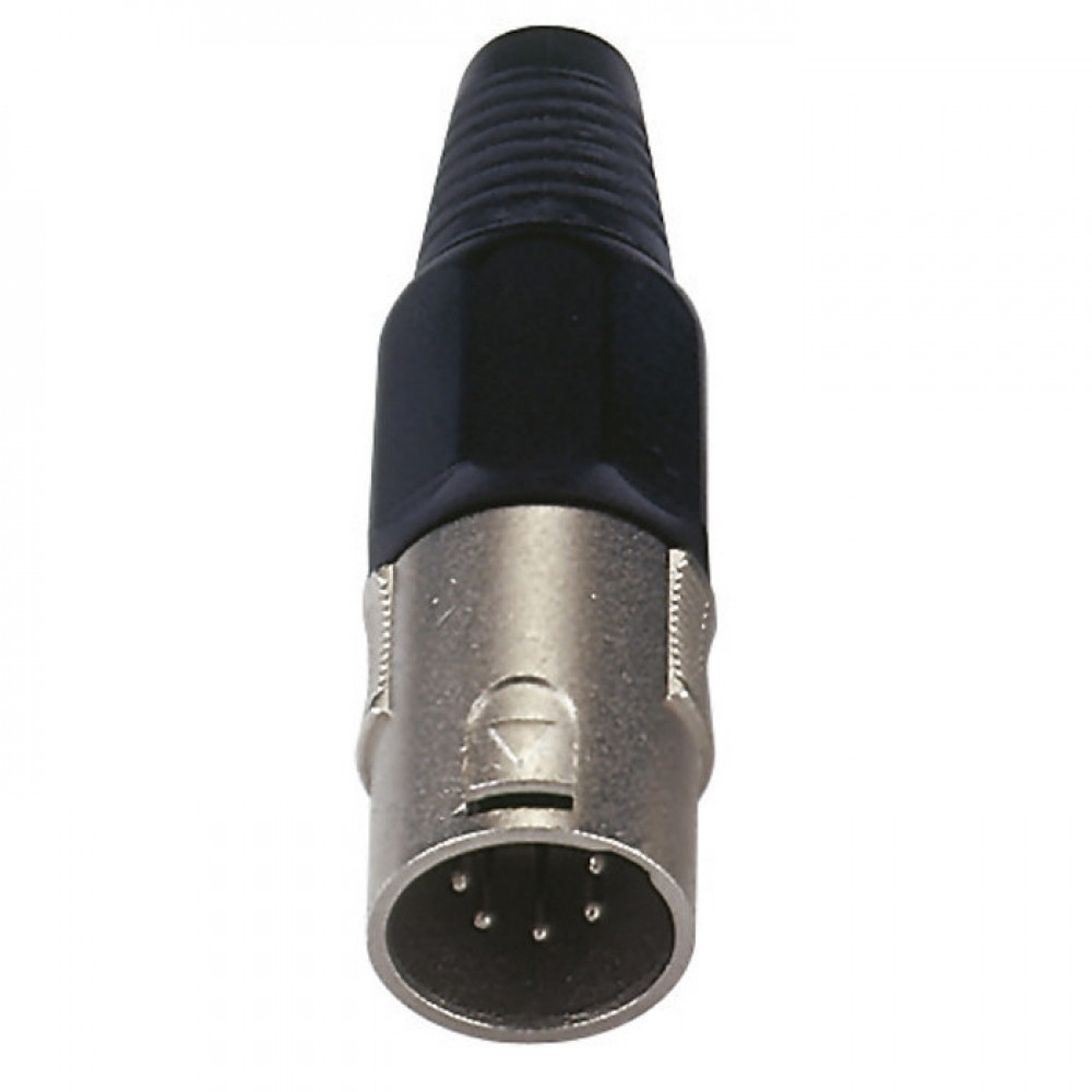 CONNETTORE DAP AUDIO XLR 5 POLI MASCHIO XMK105NB
