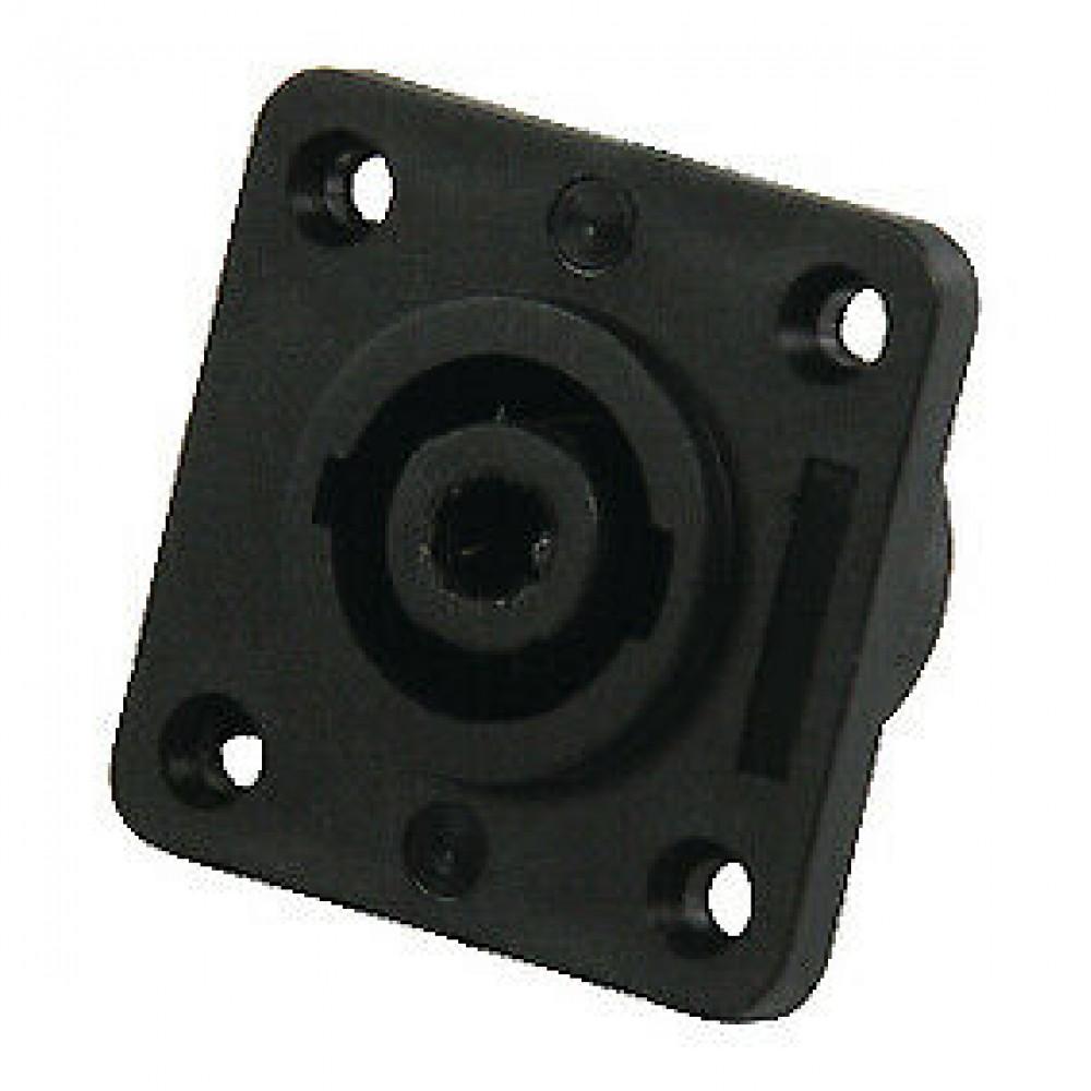 Connettore speakon da pannello Proel SPK4MPG 4 Poli maschio quadrata