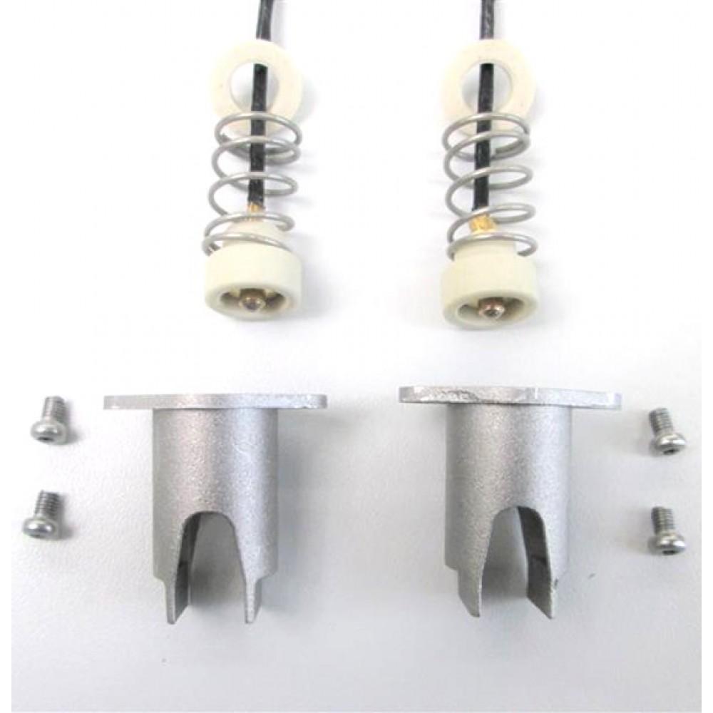 Cosmolight Coppia Portalampada per illuminatori 800/1000w RC 80/100/4