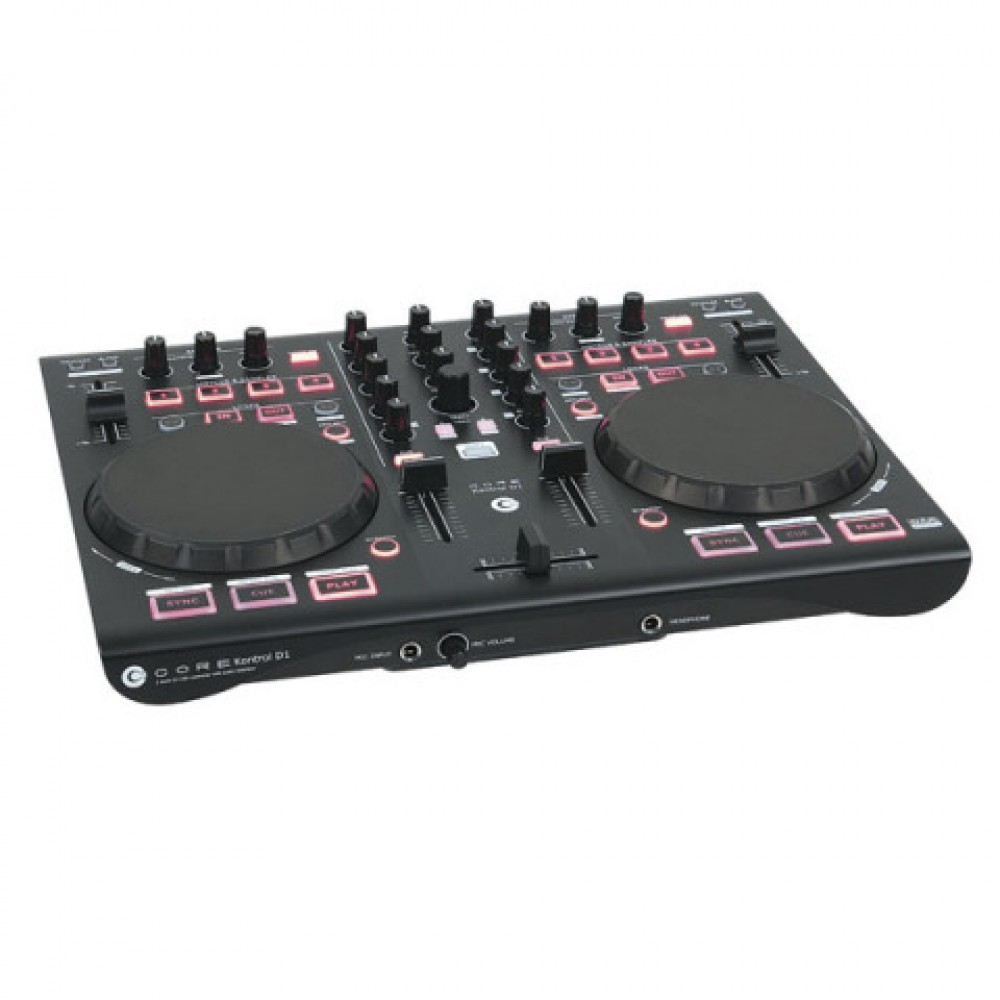 Doppio controller per DJ DAP-Audio CORE Kontrol D1 Deck Midi con interfaccia audio - D1265