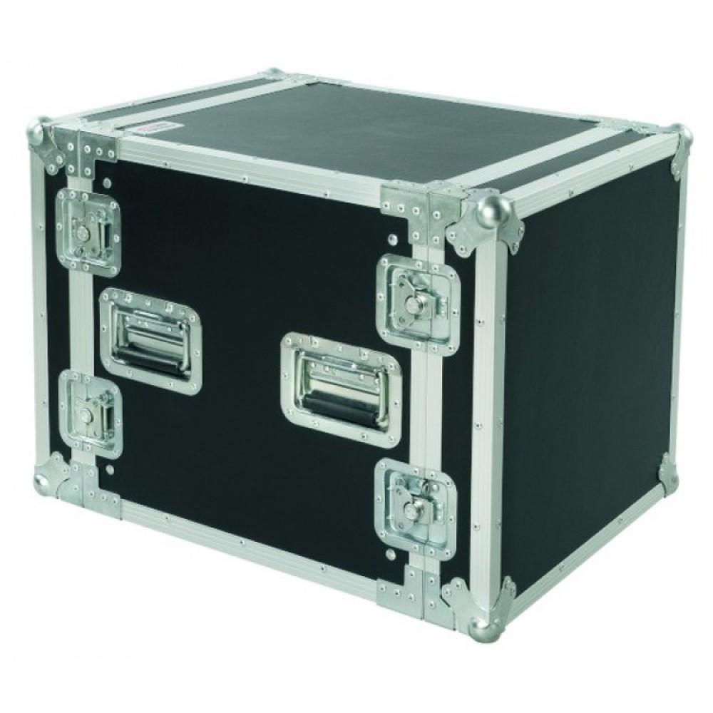 Flightcase Proel  professionale 10U Rack19 profondità 45cm CR210BLKM