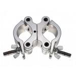 Gancio Proel a conchiglia accoppiatore doppio rotazione 360 PLH310 alluminio max 500Kg