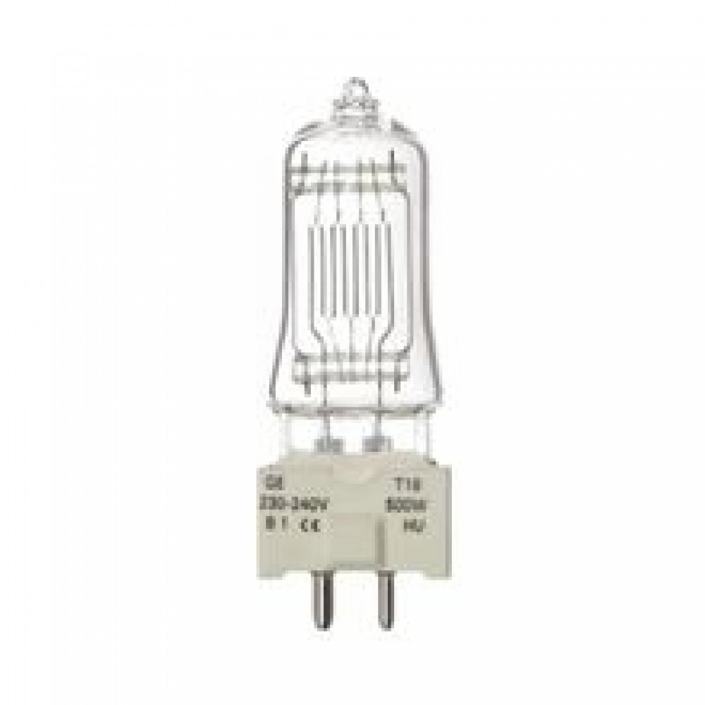 Lampada GE T18 GCW 230-240V 500W GY9.5 - 88465