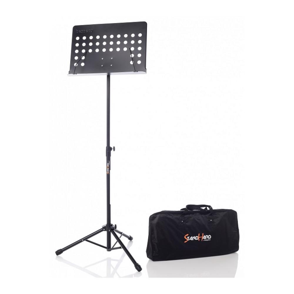 Leggio per orchestra o banda Bespeco con tavola in metallo con borse inclusa SH200U