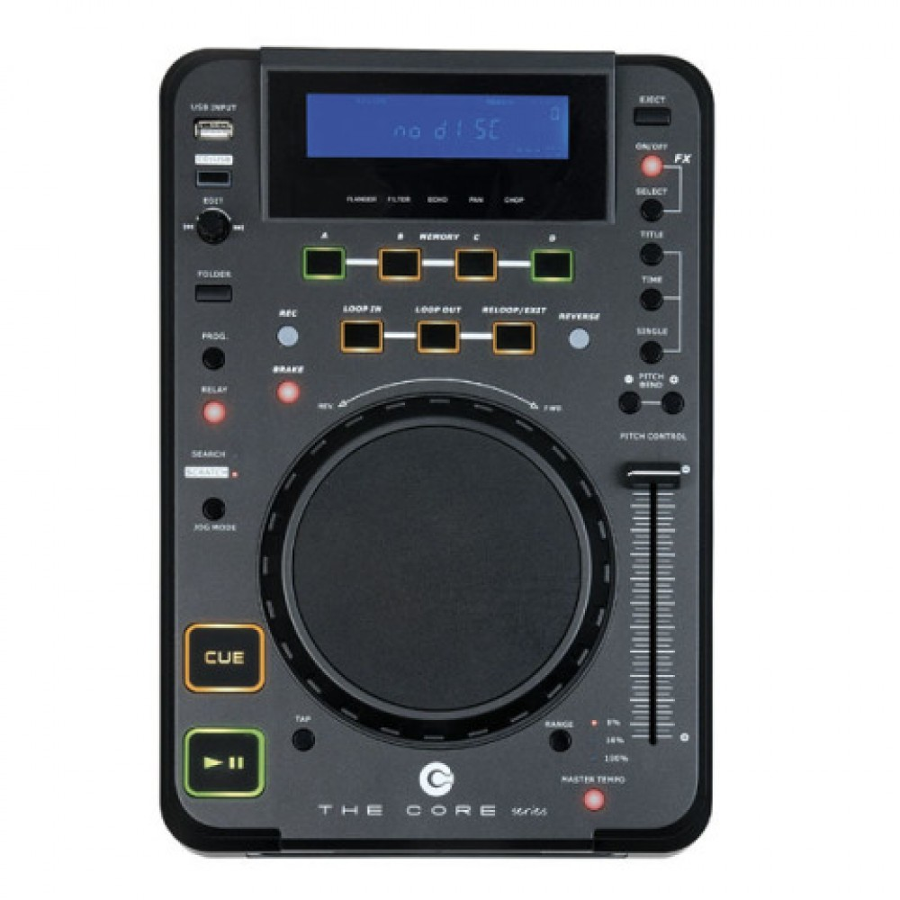 LETTORE PROFESSIONALE CORE CDMP-750 DAP AUDIO PER DJ CON MP3 E USB - D1155