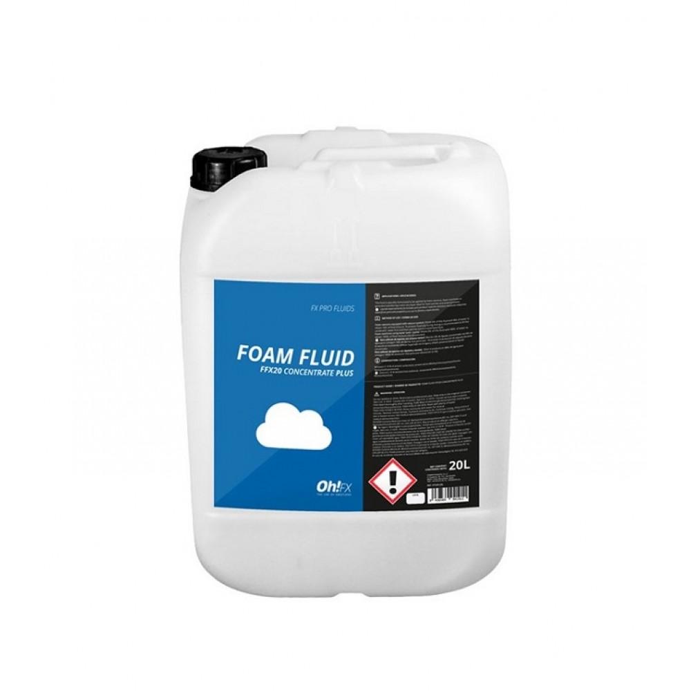 Liquido OH!-FX concetrato per macchina cannone effetto schiuma 20l ideale per schiumaparty