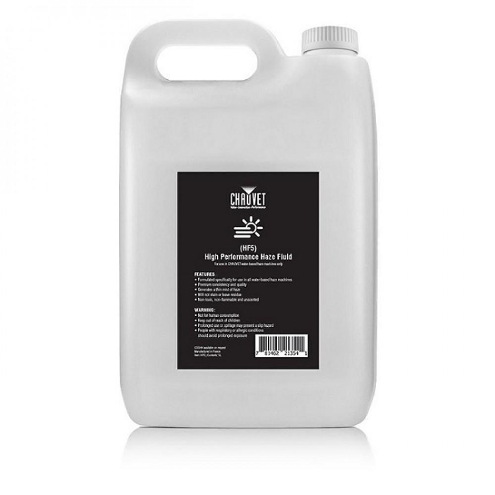 Liquido per macchina hazer nebbia professionale Chauvet HF5 Amhaze Whisper e Stadium 5Litri