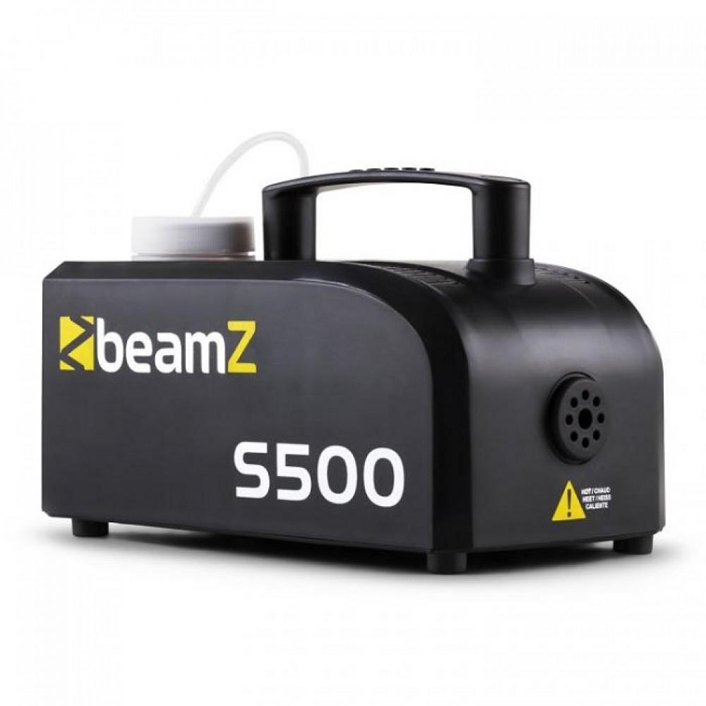 Macchina del fumo S500 BEAMZ 500W con fluido nebbia 250ml incluso - 160434