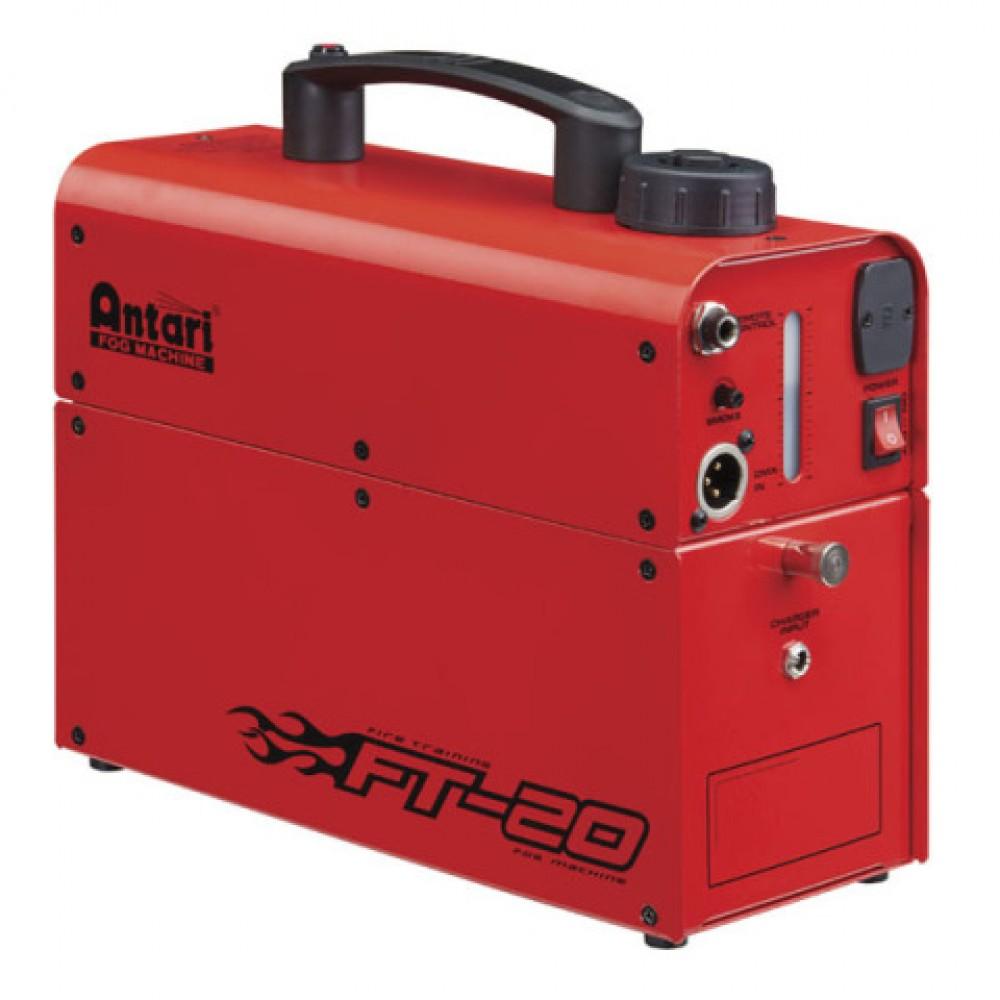 Macchina della nebbia fumo a batteria Antari FT-20X 600W per formazione di addetti antincendio - 60775
