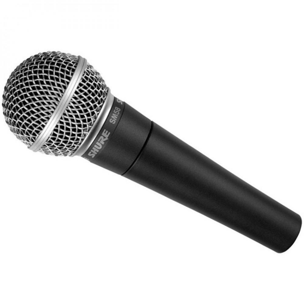 Microfono Shure SM58 Dinamico Cardioide per voce