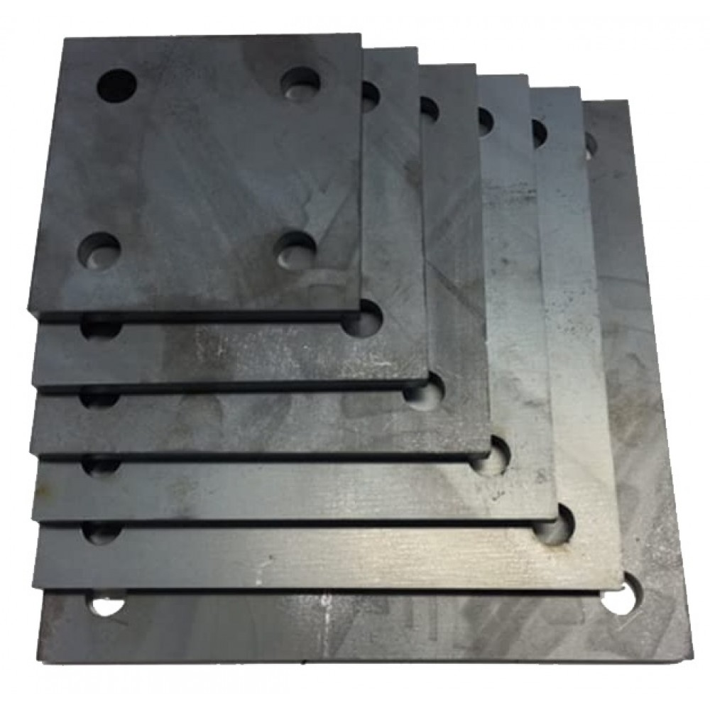 Piastra metallica realizzabile su misura lamiera spessore da 1mm a 10mm grezza forata zincata o verniciata