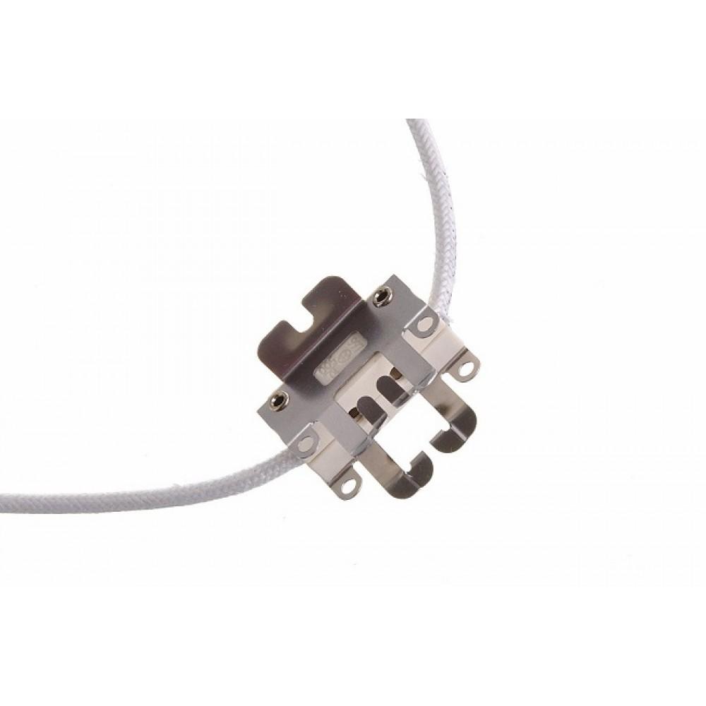 Portalampada GY9,5 per lampade a bulbo da 500W tipo T18