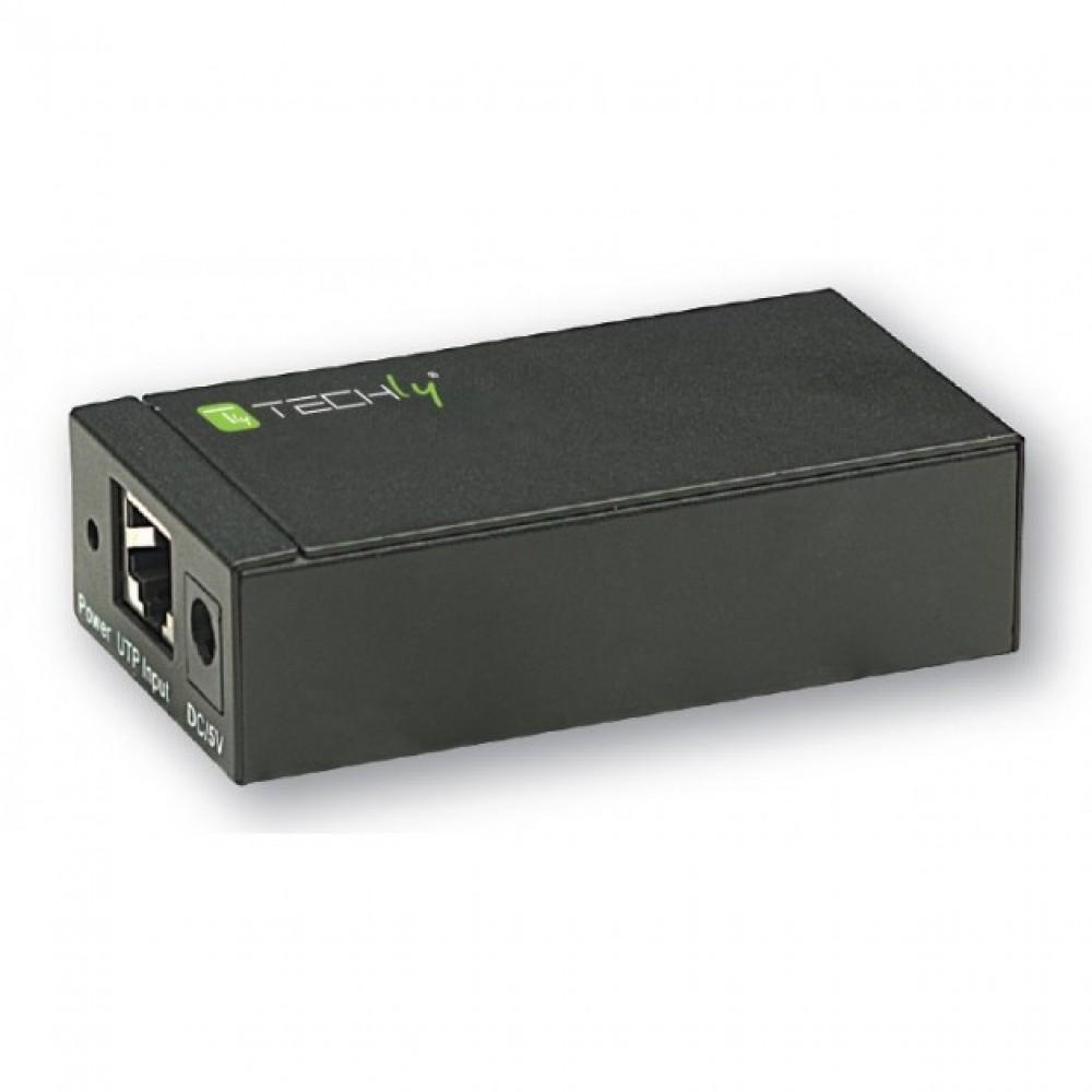 Ricevitore Techly per Extender Audio Video su Cavo Cat5e 300 m EX-DL45