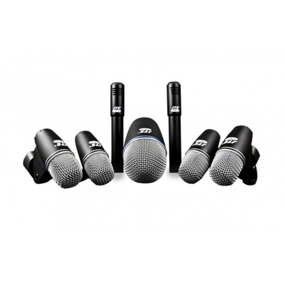 Set di 7 microfoni per amplificare la batteria JTS TXB 7M con valigetta inclusa