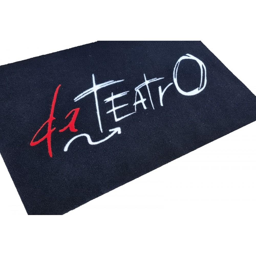 Tappeto Zerbino Intarsiato a Mano in Cocco Naturale o Sintetico con Logo Personalizzato Zerbino Riccio Per Barche Asciugapassi Vari Colori