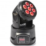 TESTA MOBILE BEAMZ MHL74 Mini Moving Head Wash 7x 10W 4-in-1 LED DMX 12CH - 150518